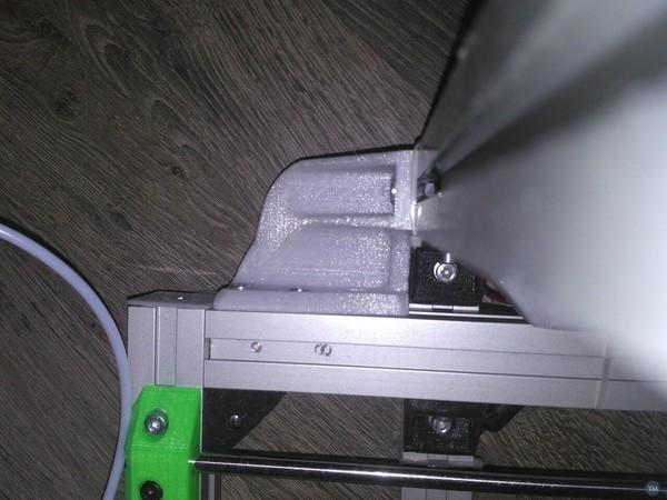 ReDuplicator i3 corner alu profile 30x30