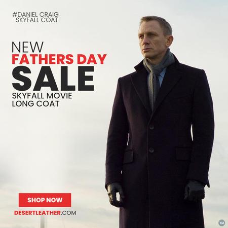 SkyFall Movie Long Coat