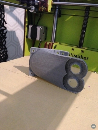 Dual Extrusion Fan Duct for Ultimaker