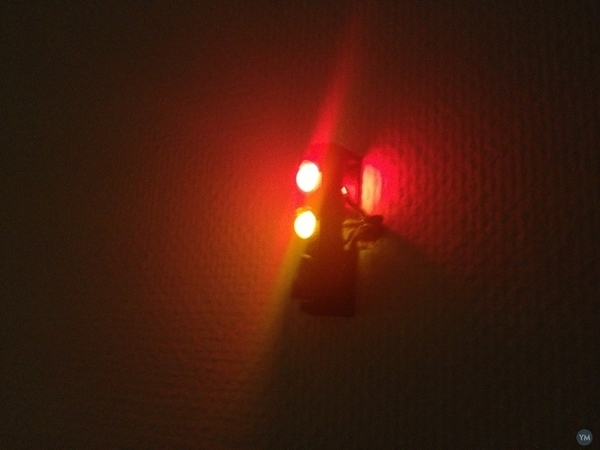 Traffic light for 10mm LEDs