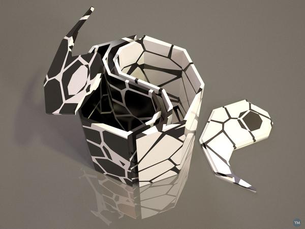 Yin Yang - Cracked