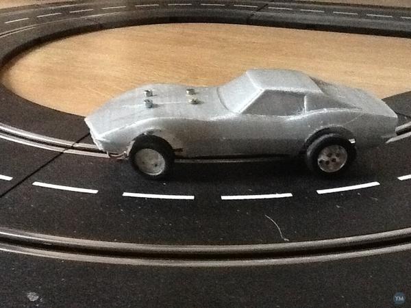 Corvette 69 slotcarbody