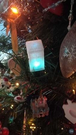 Christmas Lights Tardis