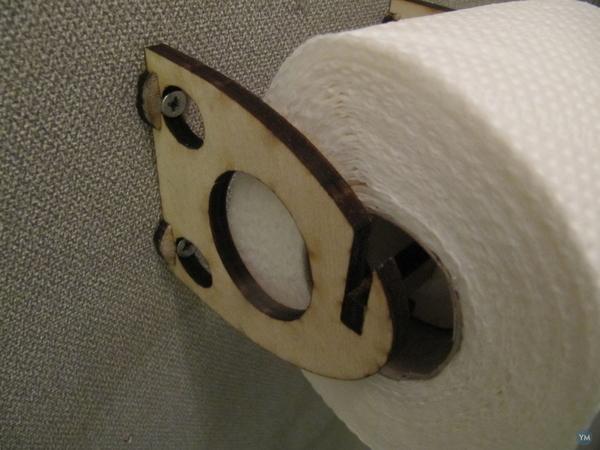 Toilet rol holder