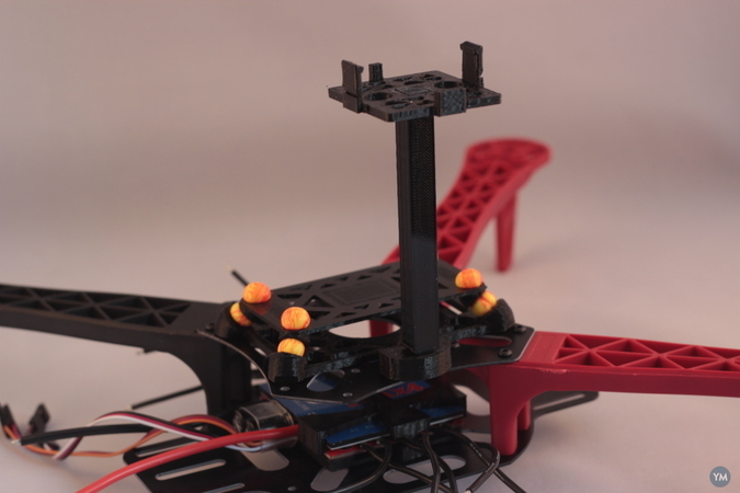 3D Robotics GPS/Compass Quadcopter Mount