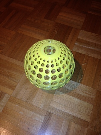 Lampshade With Holes