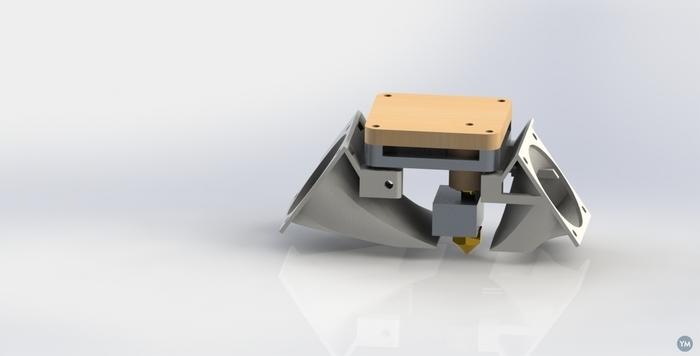 Double fan duct 40mm ultimaker original