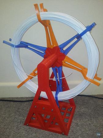 Spool Holder for Loose Filament