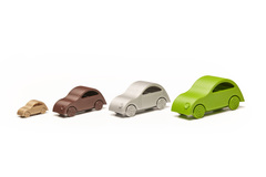 Little Printed Cars   2 Cv Prototype