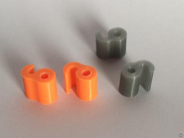 Filament Clip 3mm or 1.75mm
