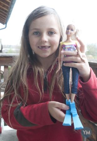 Ski for my daughter's dolls