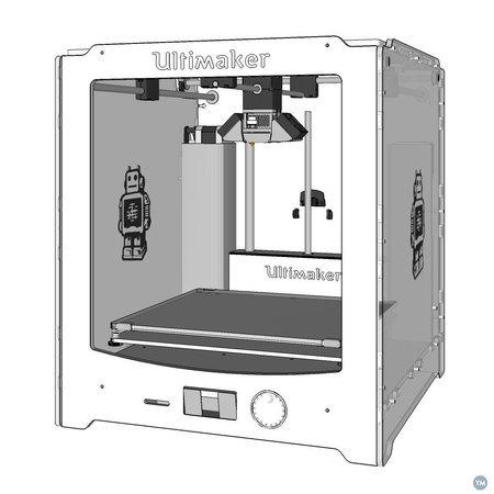 Ultimaker 2 SketchUp