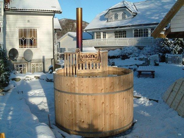 Vikingstampen - Siberian Larch hottub