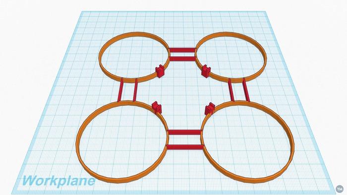Q-Bot micro protective frame