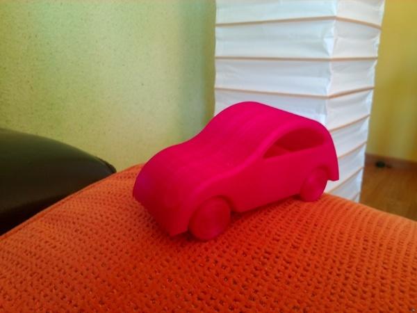 Little Printed Cars: 2CV tribute