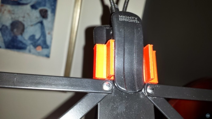 Music Stand Clip-on Light Bracket