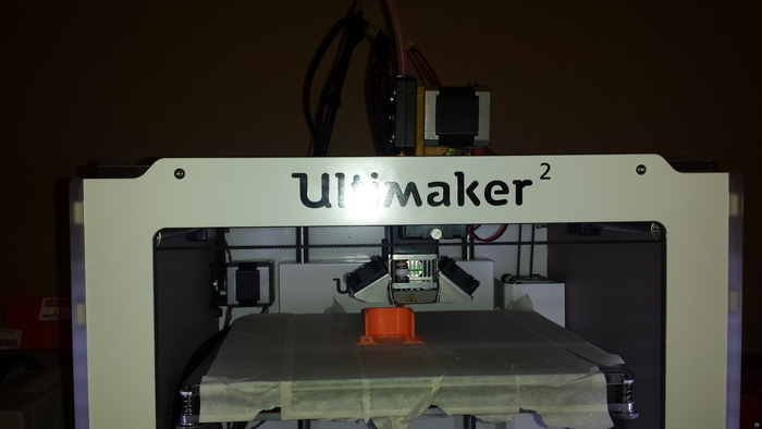 """Ultimaker2 """"on the top"""" extruder mod"""
