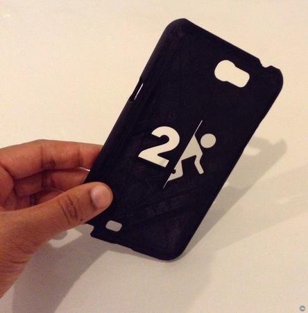 Galaxy Note 2 Case - Portal 2 Stencil