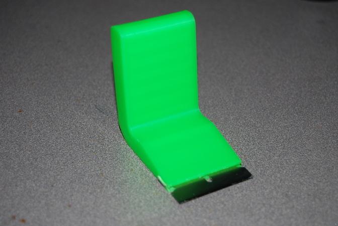 Angled Razor Blade holder