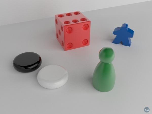 Board game bits