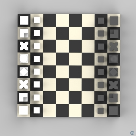 Educational Chess Pieces