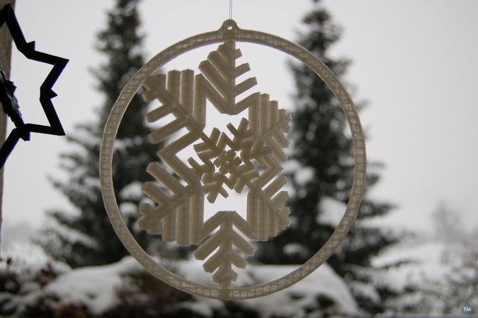 Gyroscopic Snowflake