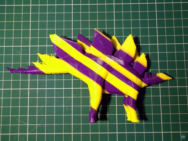 Stegosaurus - sliced