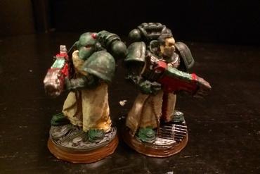 YouMagine – Dark Angel's Space marine squad by Garin