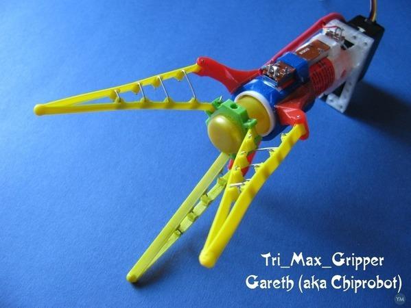 Tri_Max_Gripper ( Conforming Robotic gripper )