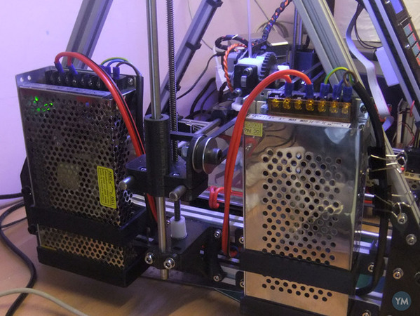 MendelMax LED Power Supply Bracket 10A & 20A