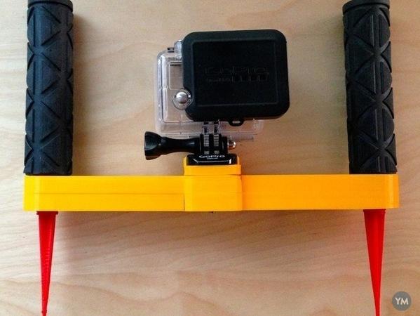 GoPro diver's handle