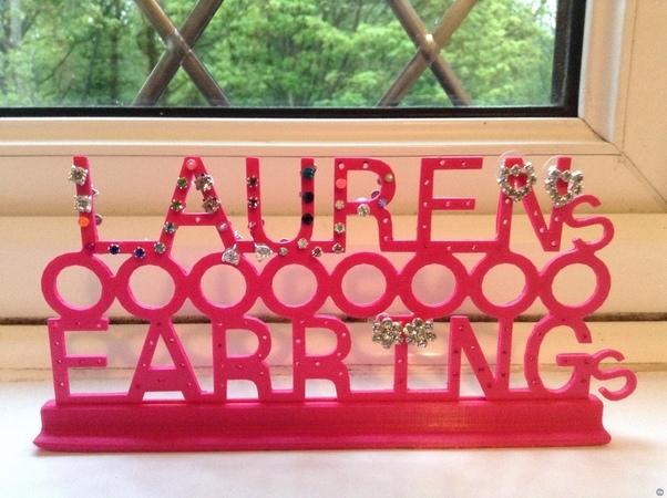 Lauren's Earrings Holder