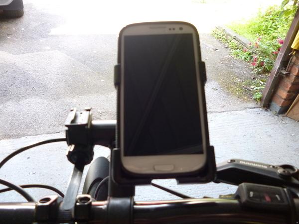 Samsung S3 bike phone holder