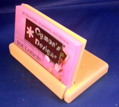 Pocket Business Card Display Holder