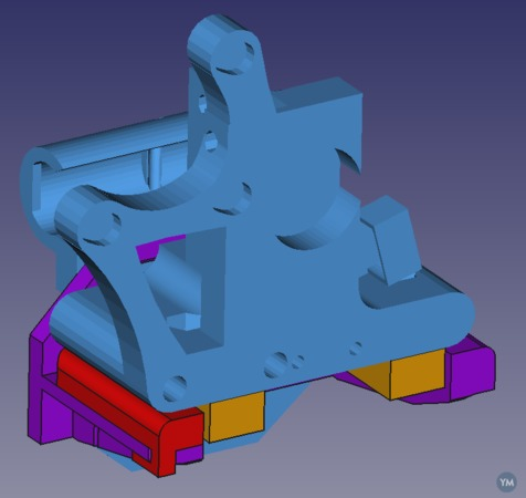 Quick-Fit Support for Prusa i3