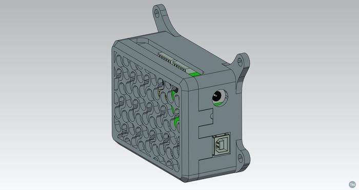 Shapeoko 2 motor drive+Arduino box
