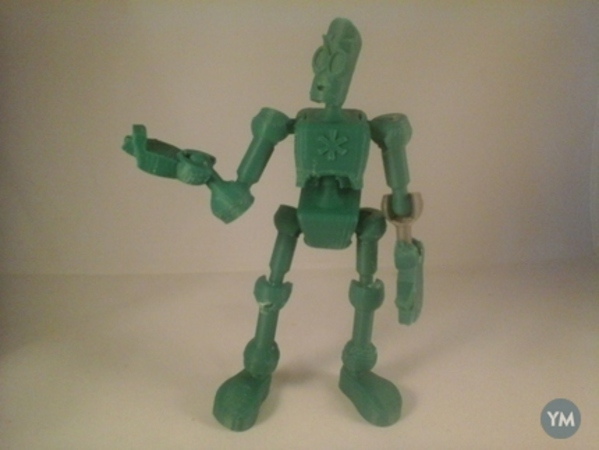 Modular CyBot posable toy