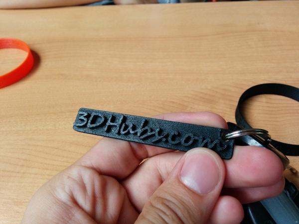 3DHubs keyChain