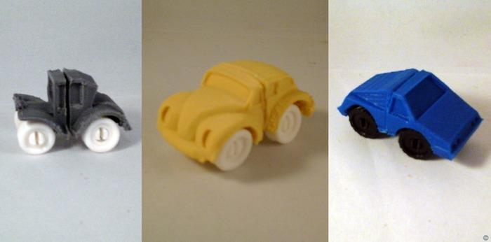 ModWheels Modular Toy Car Set Ver 1