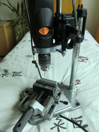 Drill adapter for Dremel drill stand
