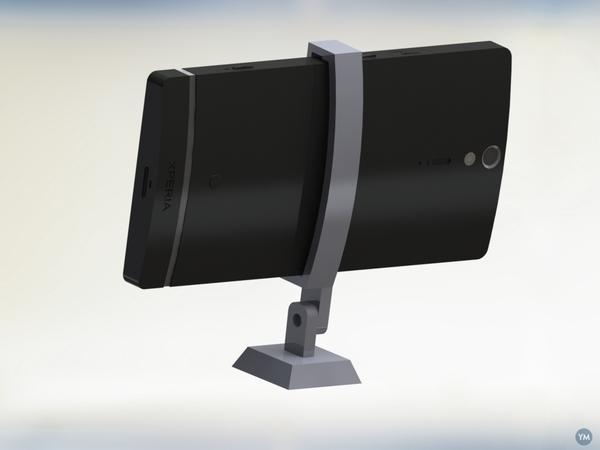 Sony Xperia S Tripod Mount by Javitooo