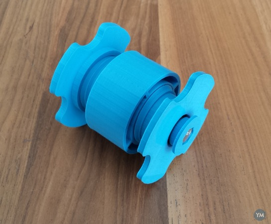 Compact Low Friction Spool Holder