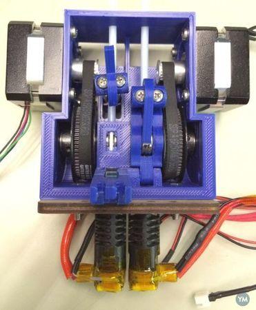 JD Duallie Belt Driven Dual Extruder