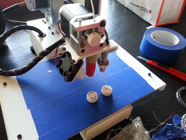 ExtruderKnob for Printrbot Simple Metal