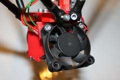 Mini Kossel Extruder Second Fan Mounted