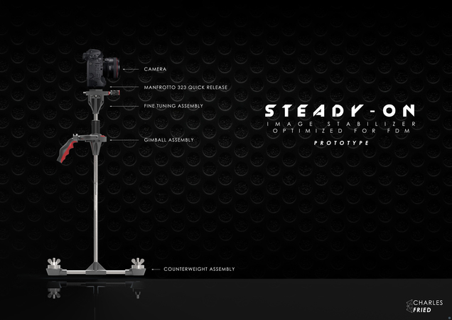 FDM Friendly Steady Cam