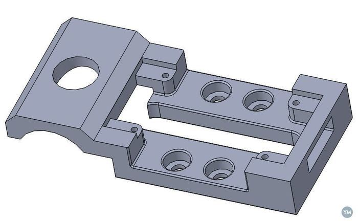 Trink Plate  with Holder