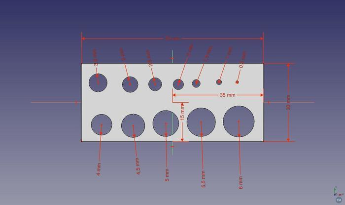 Circles and Squares Test Plates