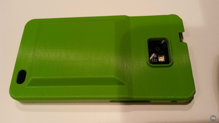 Samsung S2 case for extended battery