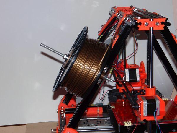 Mandel Max simple filament holder